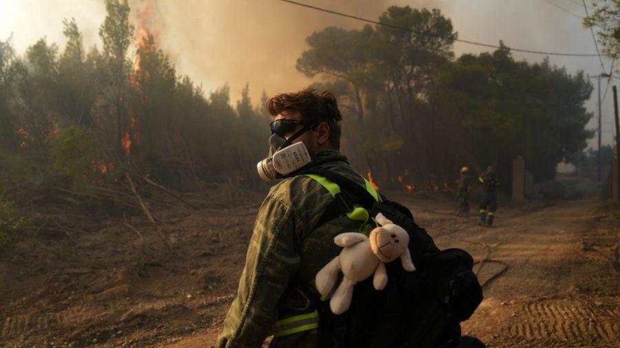 grécko požiare