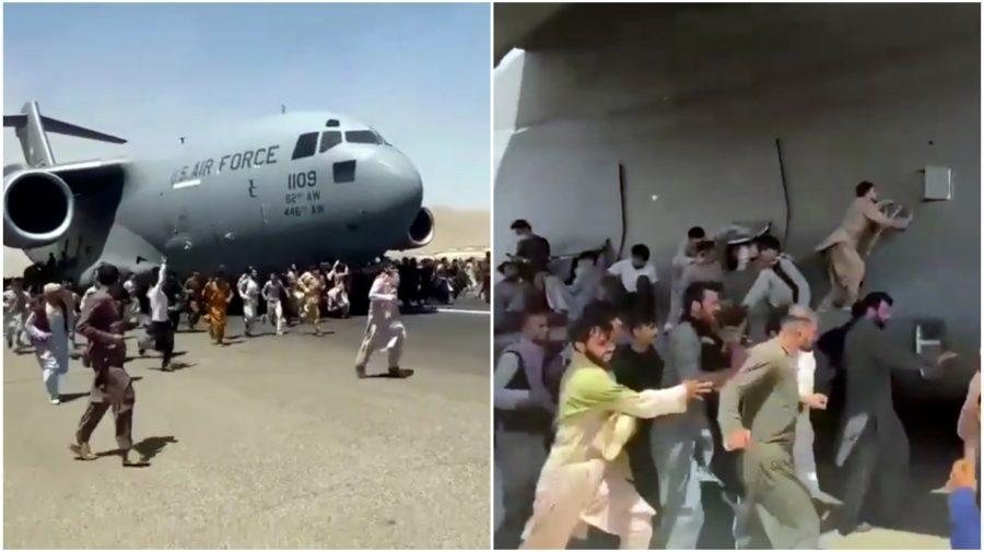 Lietadlo AIR Force Kábul