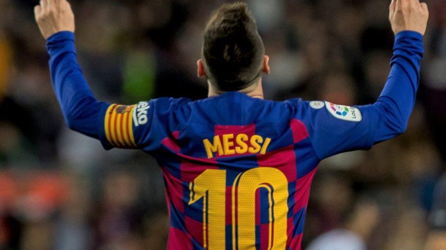 Lionel Messi oslava gólu