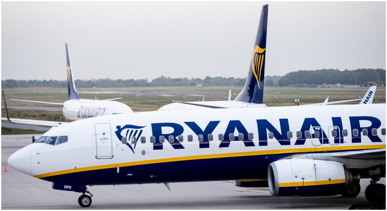 lietadlo írska letecká spoločnosť Ryanair