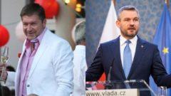 Miroslav Výboh a Peter Pellegrini