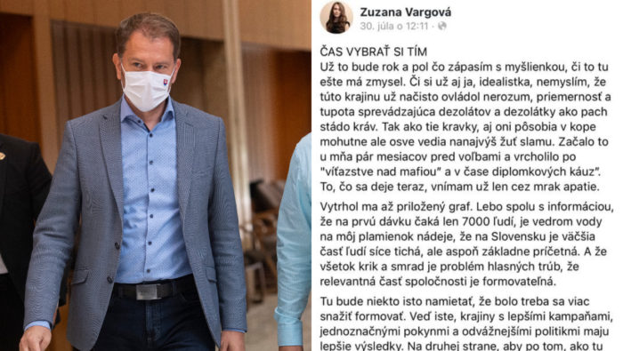 Vargová Zuzana, Igor Matovič