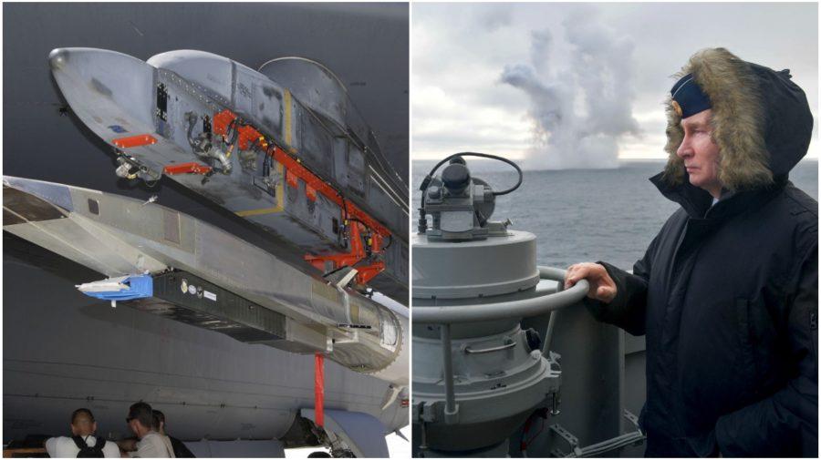 Putin hypersonické strely