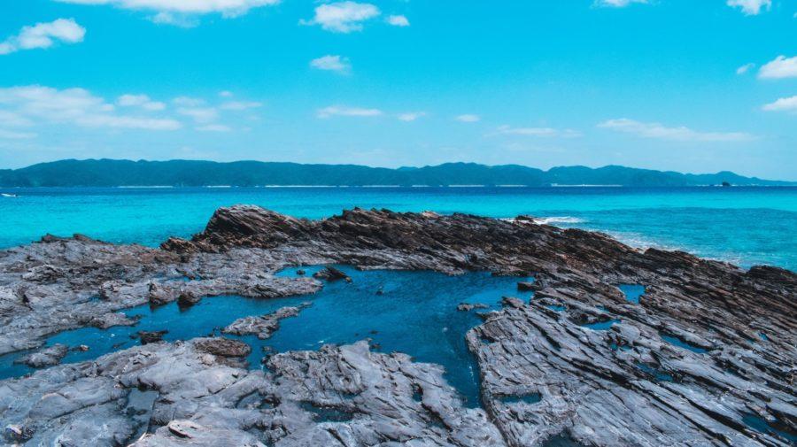 ostrov, japonsko
