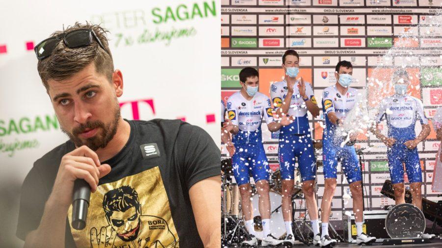 Sagan na pretekoch Okolo Slovenska
