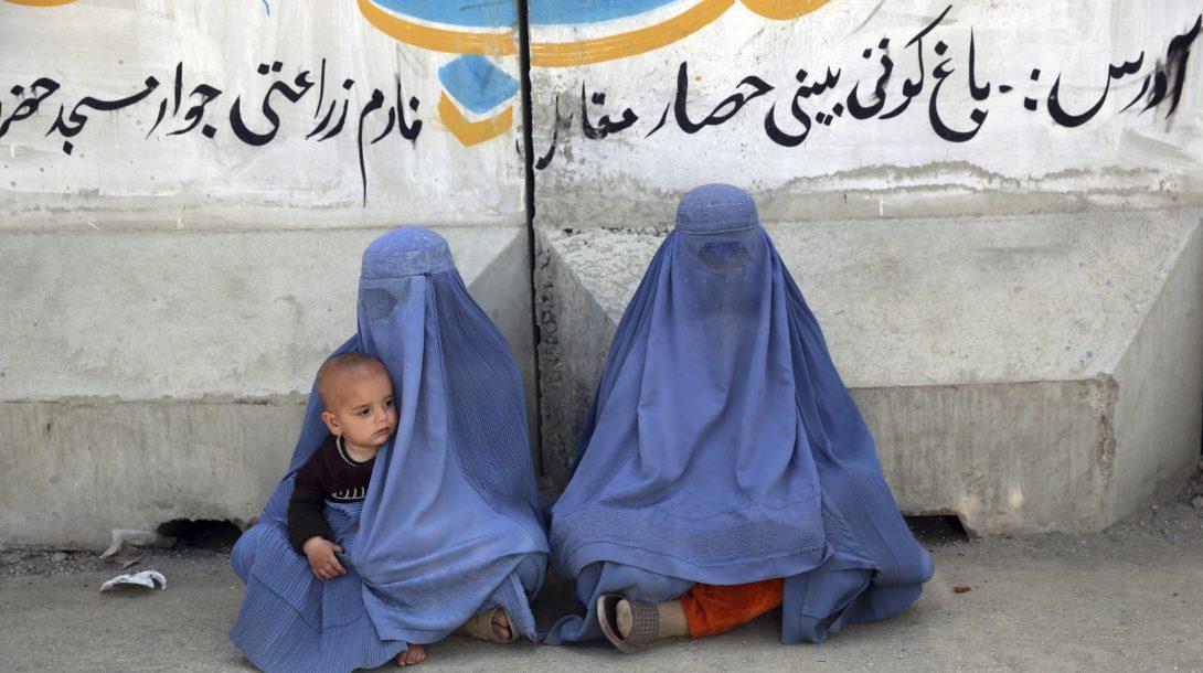 afganska žena