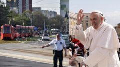 Obmedzená doprava pápež