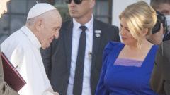 pápež františek zuzana čaputová prezidentka