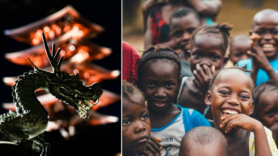 Afrika Čína