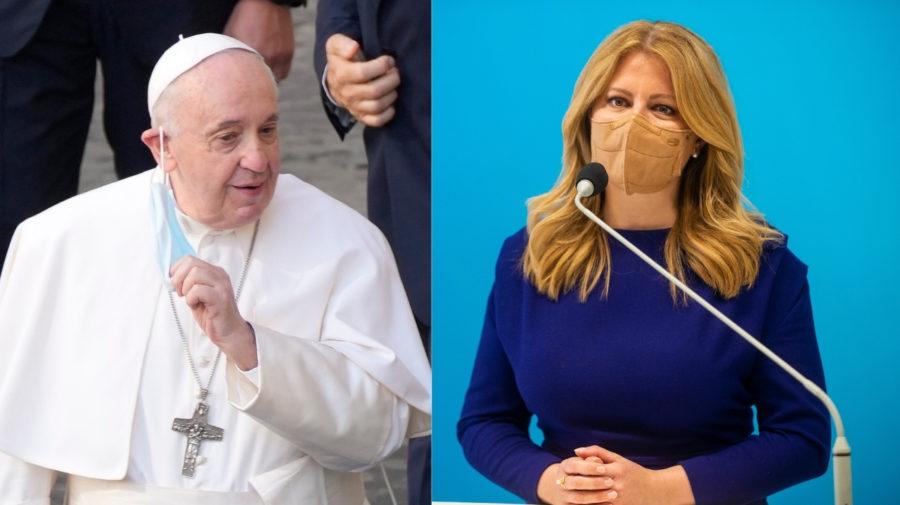 čaputová, pápež františek