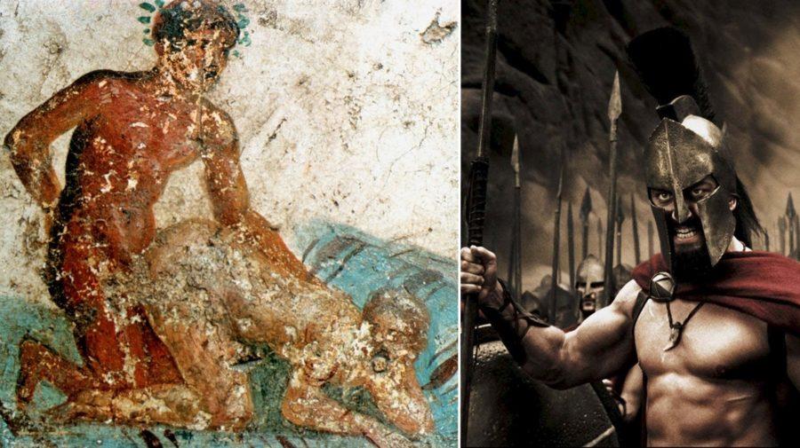 homosexualita v dejinách starovek antické Grécko Rimania