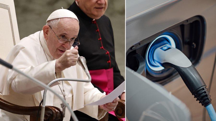 pápež František elektromobil
