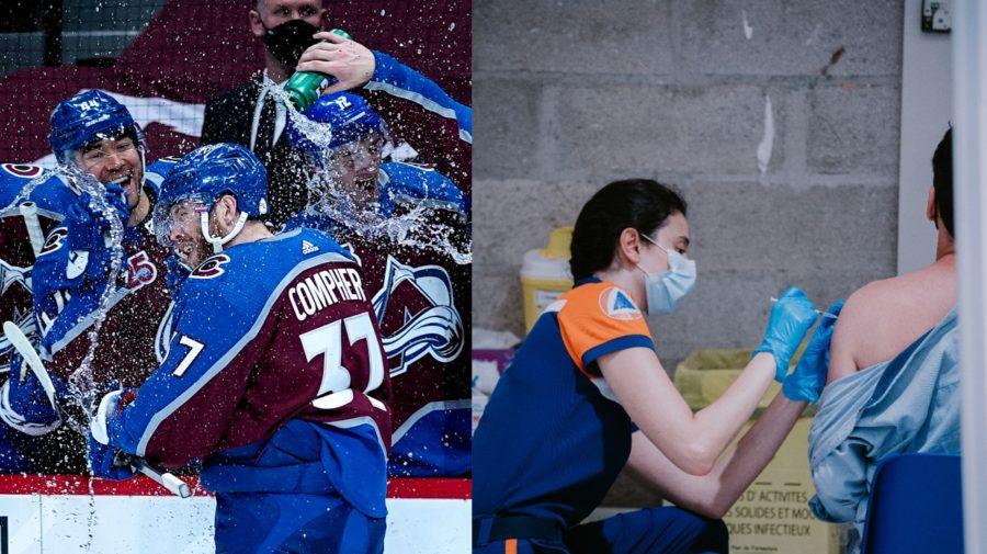 hokej, koronavírus