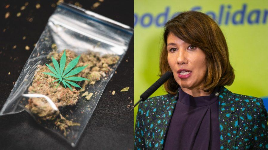 Nicholsonová podporuje legalizáciu marihuany