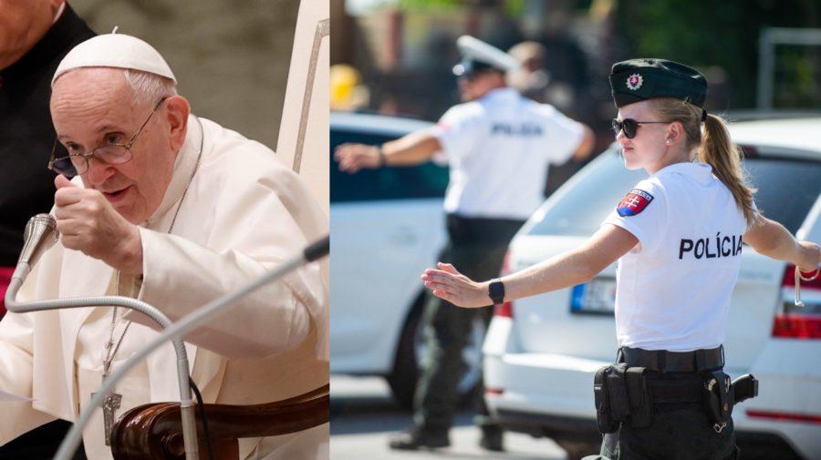 Návšteva pápeža Františka