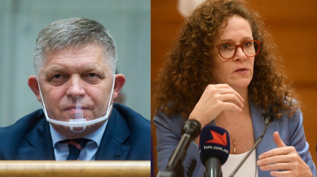 Róbert Fico/Sophie in 't Veldová