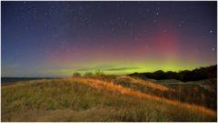 Polárna žiara (aurora borealis)