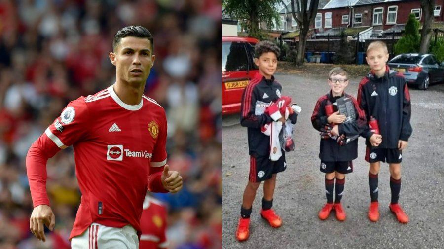 Ronaldo trénuje so synom v rovnakom klube
