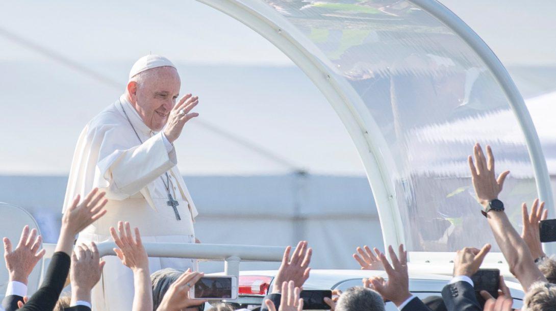 pápež František Slovenska svätá omša Šaštín
