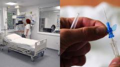 nemocnica, ihla