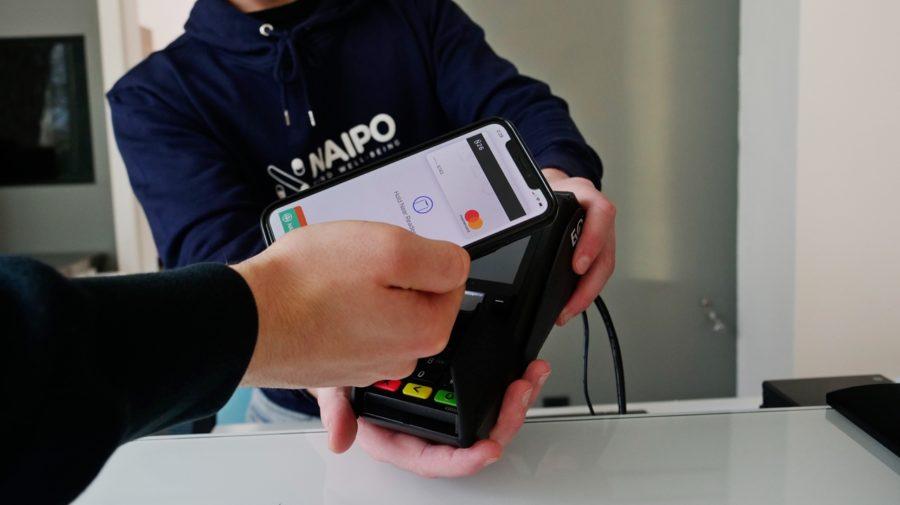 platba mobilom Apple Pay