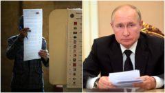 Putin voľby do dumy