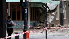 Austrália, zemetrasenie
