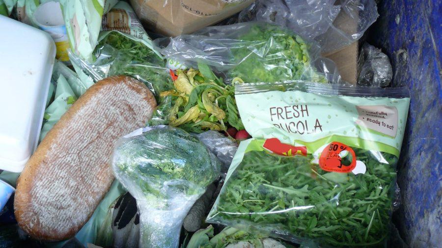 potraviny odpad plytvanie