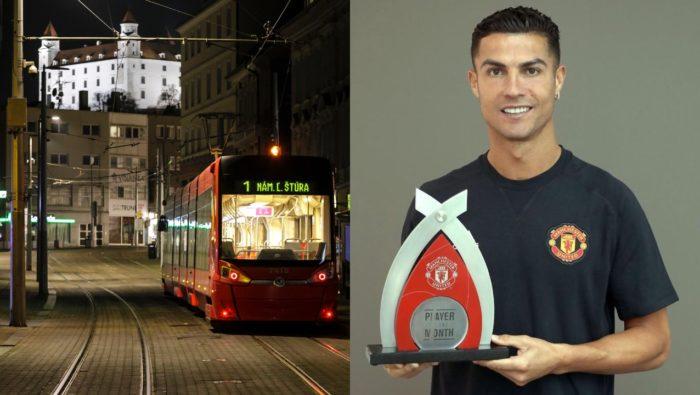 Newsletter Bratislava nočný život Ronaldo futbal