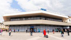 Upravená Hlavná železničná stanica v Bratislave