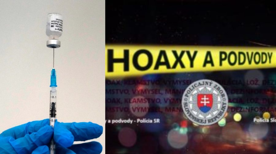 Na snímke zdravotník pripravuje vakcínu proti covidu od konzorcia Pfizer/BioNTech, Hoaxy a podvody - Polícia SR