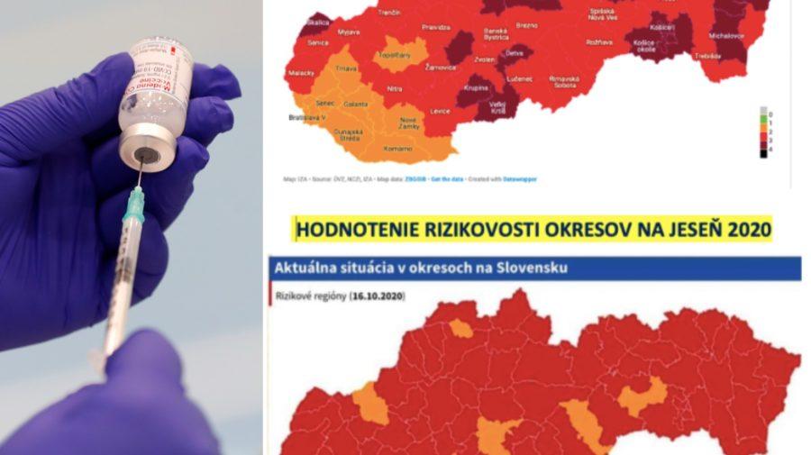 Zdravotníčka naťahuje do injekčnej striekačky vakcínu proti ochoreniu Covid-19. Covid automat 2020/2021