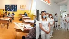 Dištančné vyučovanie v Košiciach. Nemocnica s poliklinikou v Myjave.