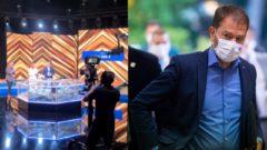 Očkovacia lotéria/Byť zdravý je výhra. Na snímke a snímke minister financií SR Igor Matovič (OĽaNO).