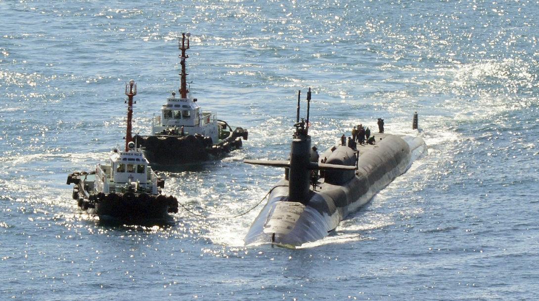 jadrová ponorka usa